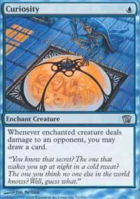 Curiosity Magic Card