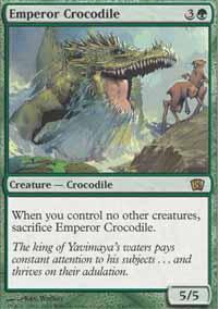 Emperor Crocodile Magic Card