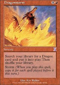Dragonstorm Magic Card
