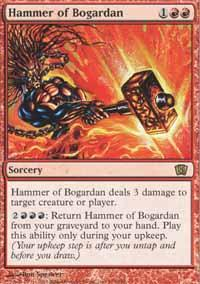 Hammer of Bogardan Magic Card