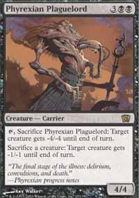 Phyrexian Plaguelord Magic Card