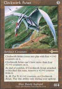 Clockwork Avian Magic Card