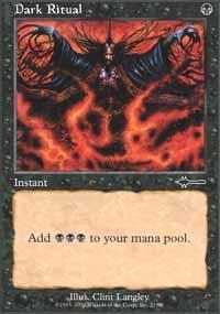 Dark Ritual Magic Card