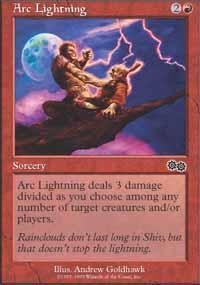 Arc Lightning Magic Card