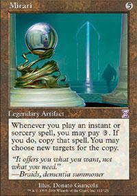 Mirari Magic Card
