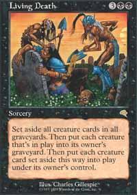 Living Death Magic Card