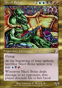 Nicol Bolas Magic Card