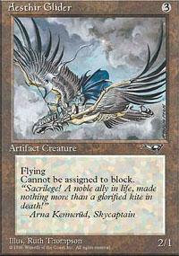Aesthir Glider Magic Card