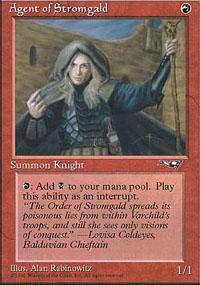 Agent of Stromgald Magic Card