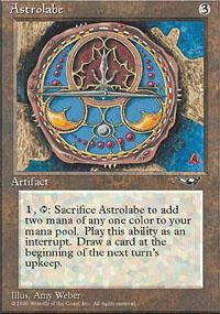Astrolabe Magic Card