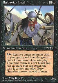 Balduvian Dead Magic Card