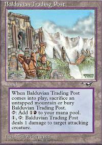 Balduvian Trading Post Magic Card
