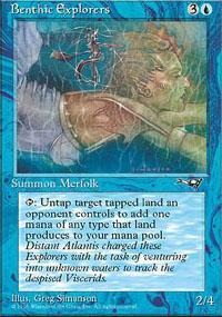 Benthic Explorers Magic Card