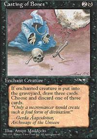 Casting of Bones Magic Card