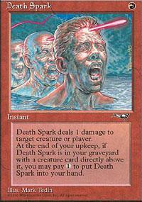 Death Spark Magic Card