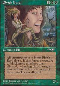 Elvish Bard Magic Card