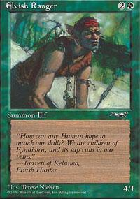 Elvish Ranger Magic Card