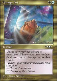 Energy Arc Magic Card