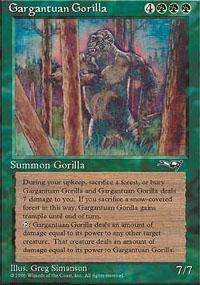 Gargantuan Gorilla Magic Card