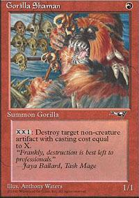 Gorilla Shaman Magic Card