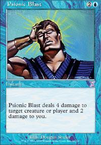 Psionic Blast Magic Card
