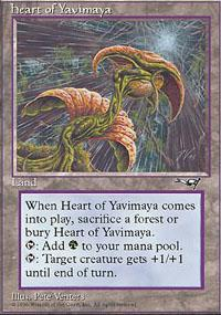 Heart of Yavimaya Magic Card
