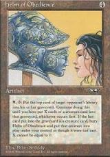 Helm of Obedience + Bazaar of Wonders - Magic The Gathering