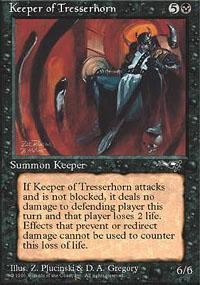 Keeper of Tresserhorn Magic Card