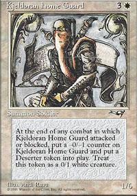 Kjeldoran Home Guard Magic Card