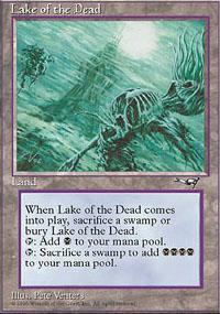 Lake of the Dead Magic Card