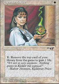 Royal Herbalist Magic Card