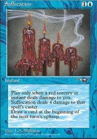 Suffocation Magic Card