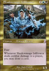 Shadowmage Infiltrator Magic Card