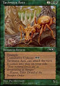 Yavimaya Ants Magic Card