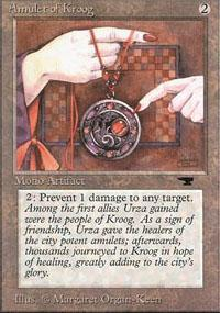 Amulet of Kroog Magic Card