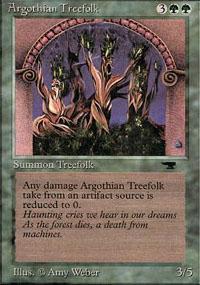 Argothian Treefolk Magic Card
