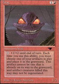 Atog Magic Card