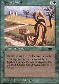Citanul Druid Magic Card