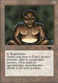 Clay Statue Magic Card