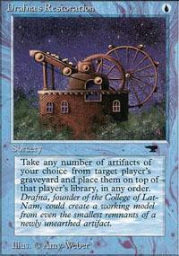 Drafna's Restoration Magic Card