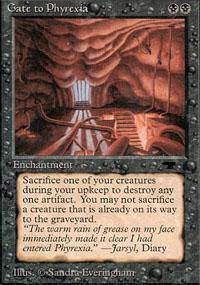 Gate to Phyrexia Magic Card