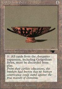 Golgothian Sylex Magic Card