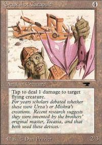Grapeshot Catapult Magic Card