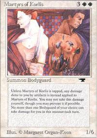 Martyrs of Korlis Magic Card