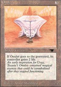 Onulet Magic Card
