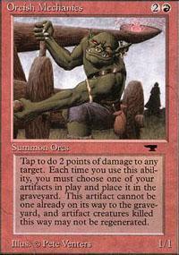 Orcish Mechanics Magic Card