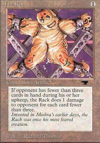 The Rack Magic Card