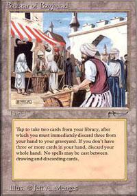 Bazaar of Baghdad Magic Card