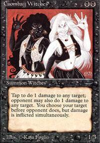 Cuombajj Witches Magic Card