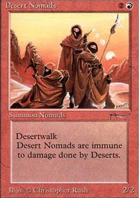 Desert Nomads Magic Card